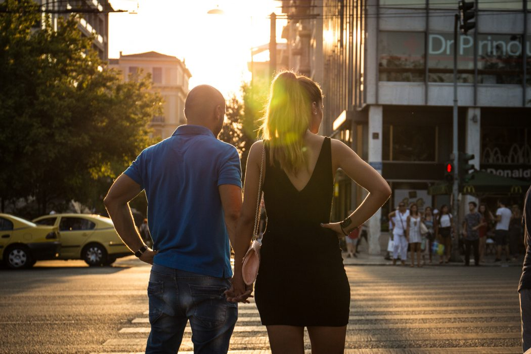 Couple in Athens