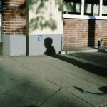 shadows in Hamburg